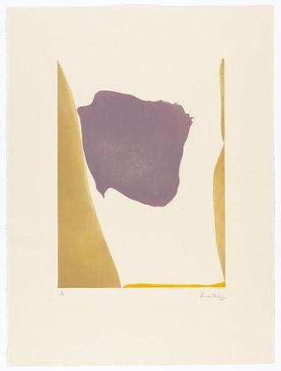 Helen Frankenthaler. Lilac Arbor. 1970