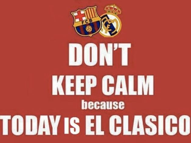 Don't keep calm...
