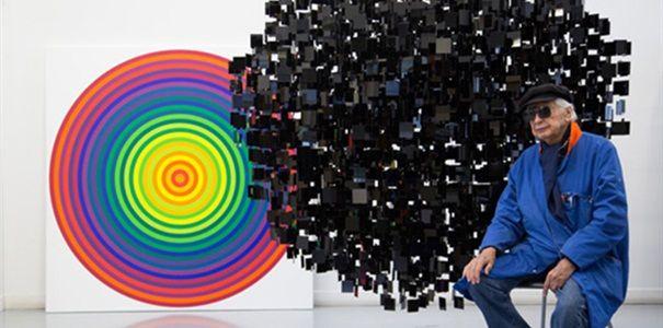 Brafa kunstbeurs Brussel België Kinetische kunstenaars en bonte banken