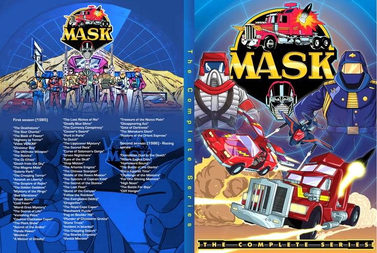 M A S K Cartoon Characters : Mask cartoon complete series pinterest masks