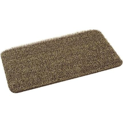 "Clean Machine 10371857 High Traffic Desert Taupe (Brown) Door Mat, 18"" X 30"""