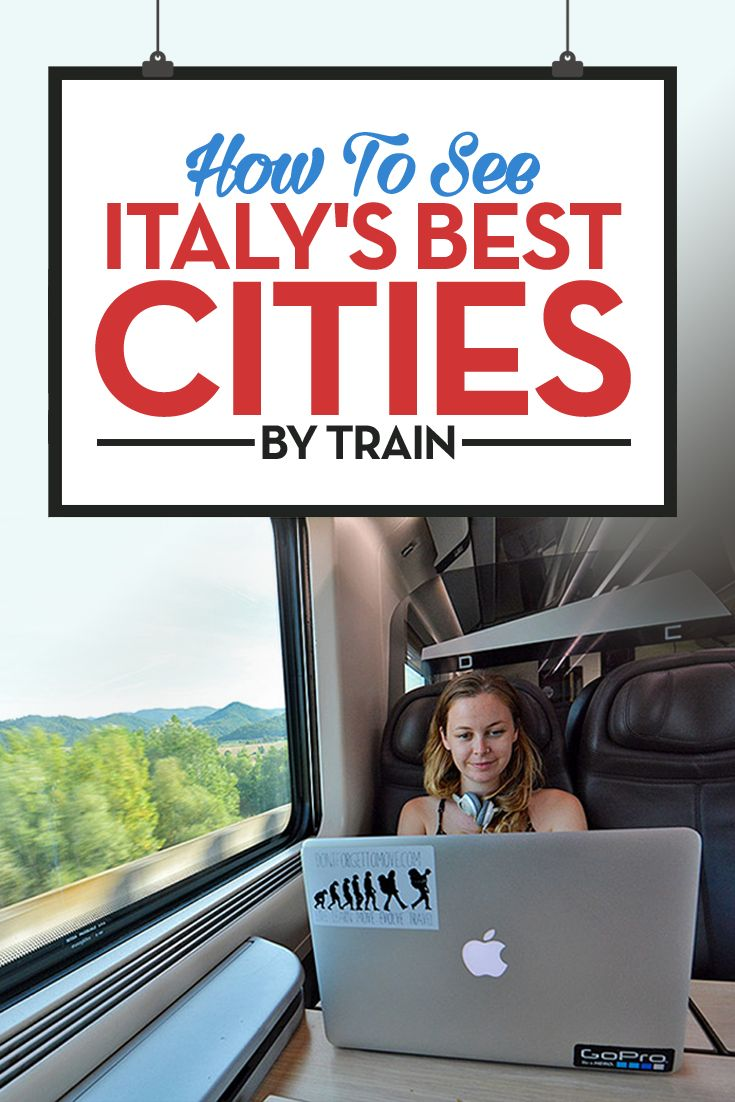 Traveling through Italy by train is the perfect way to see the country. Fast, comfortable and budget friendly, with a complimentary glass of Prosecco. Italy train travel is the best!