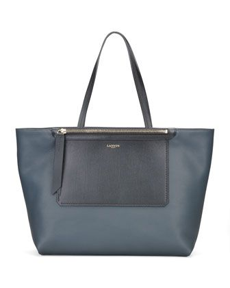 New+Easy+Shopper+Bag,+Cobalt+by+Lanvin+at+Bergdorf+Goodman.