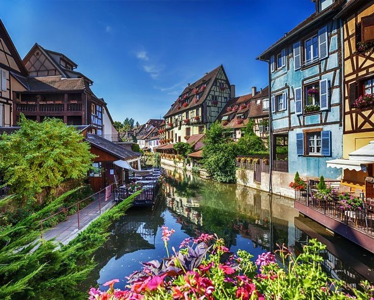 Beautiful Colmar, named Little Venice. Alsace region   10 little towns in France you need to visit Now!