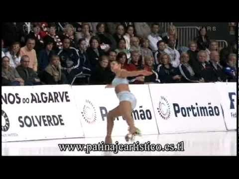 Cristina Trani, Senior Ladies event. World Artistic Roller Skating Championships 2010, Portimao , Portugal