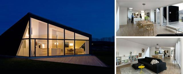 25 best ideas about modern prefab homes on pinterest for Prefab concrete house