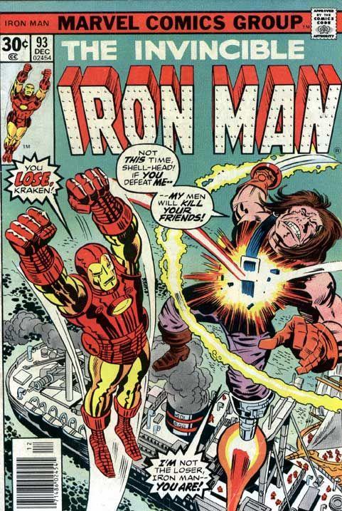 The Invincible Iron Man. No. 93.