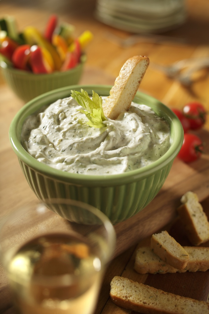 Asiago Cheese and Spinach Dip  - Great as a dip  - Wonderful as a potato topper