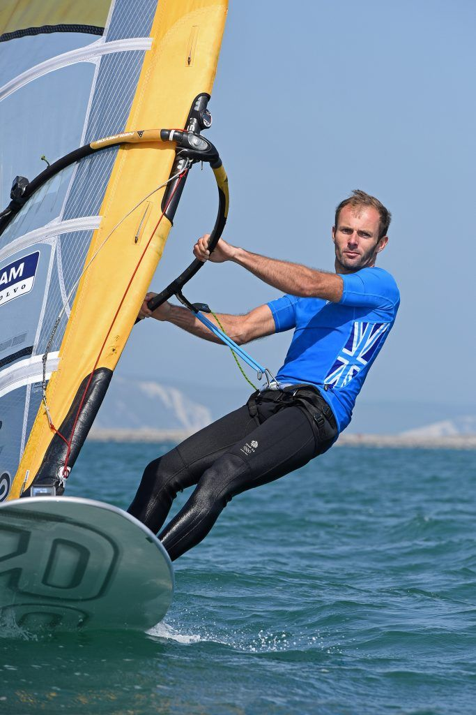 Nick Dempsey - Sailing. Men's RS:X (Windsurfing.)