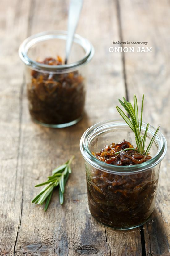 This Balsamic Rosemary Onion Jam would make an excellent side on your holiday table. Serve in on a biscuit, in a grilled cheese, or swirled in your mashed potatoes.
