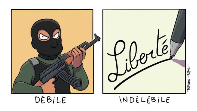 Hommage de la part d'auteurs toulousains #SoireeJeSuisCharlie