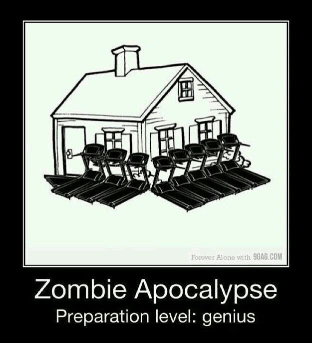 Awesome way to keep zombies away