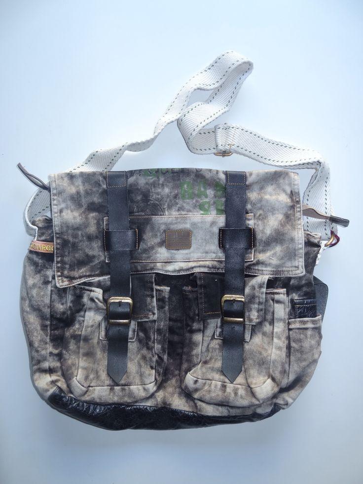 Old Cotton Cargo Bag - BAG#15 (59,- €)