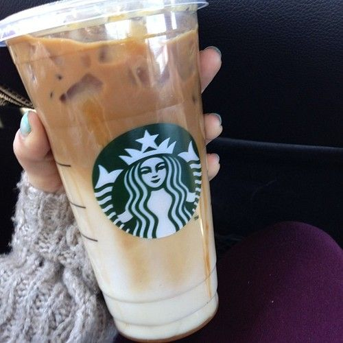 Question of the day: what's your favorite drink at Starbucks? Anything I should try? :)