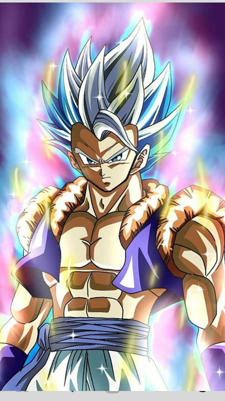Gogeta Mastered Ultra Instict Anime Dragon Ball Super Dragon Ball Super Art Dragon Ball