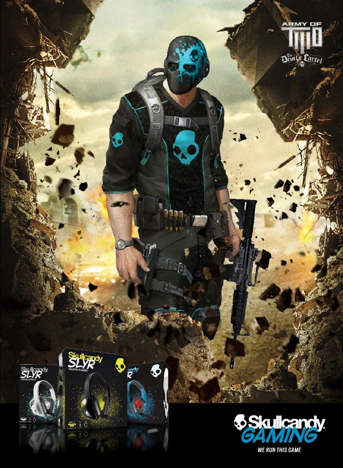 not bad looking - Army of Two: the Devils Cartel [SkullCandy gear]