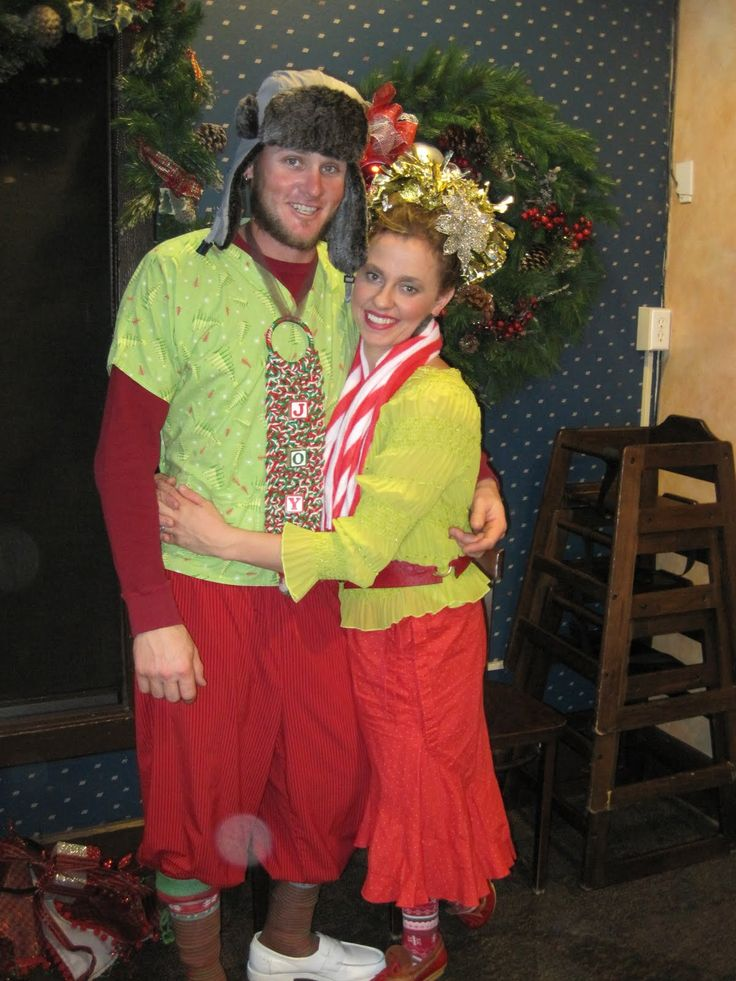Grinch the grinch costumes whoville theme lou costume grinch