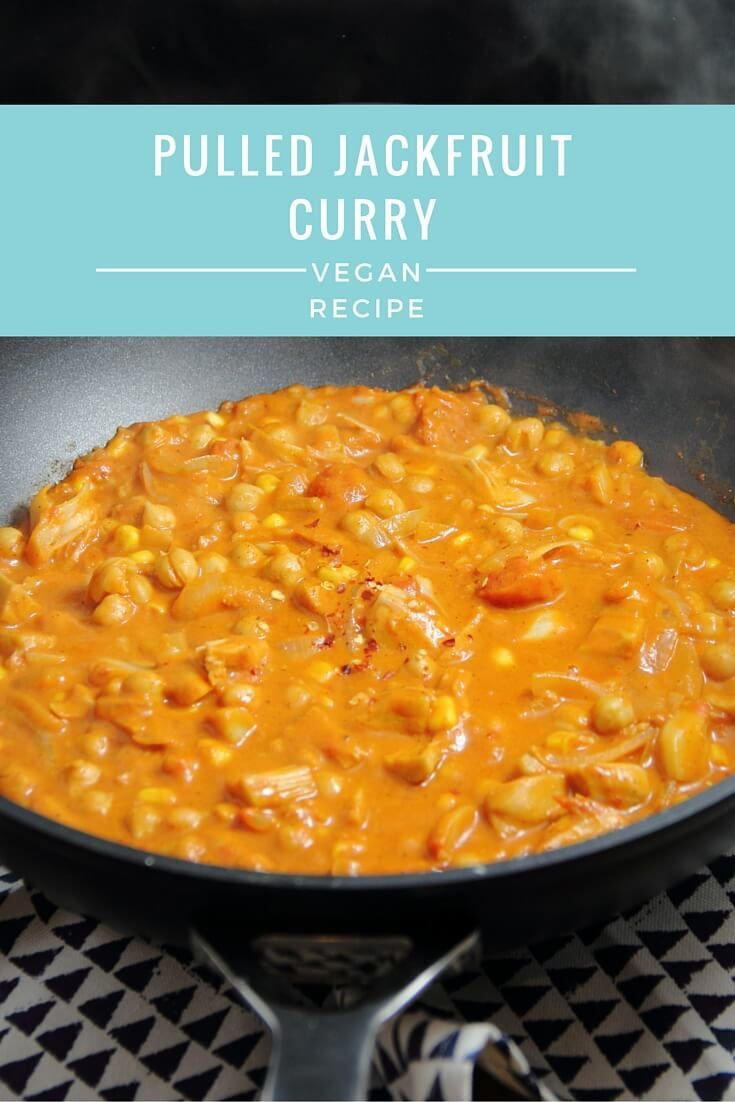Pulled Jackfruit Curry | Vegan Recipe from The Tofu Diaries