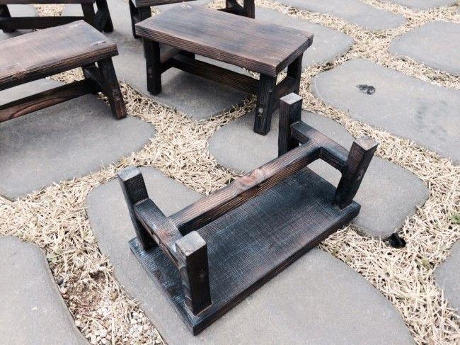 mini shelf [미니 선반] material : pine