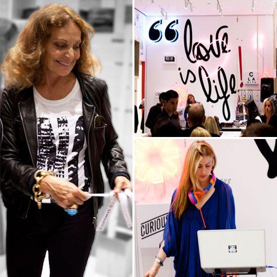 Diane von Furstenberg Interview Fashion's Night Out 2011 | POPSUGAR Fashion