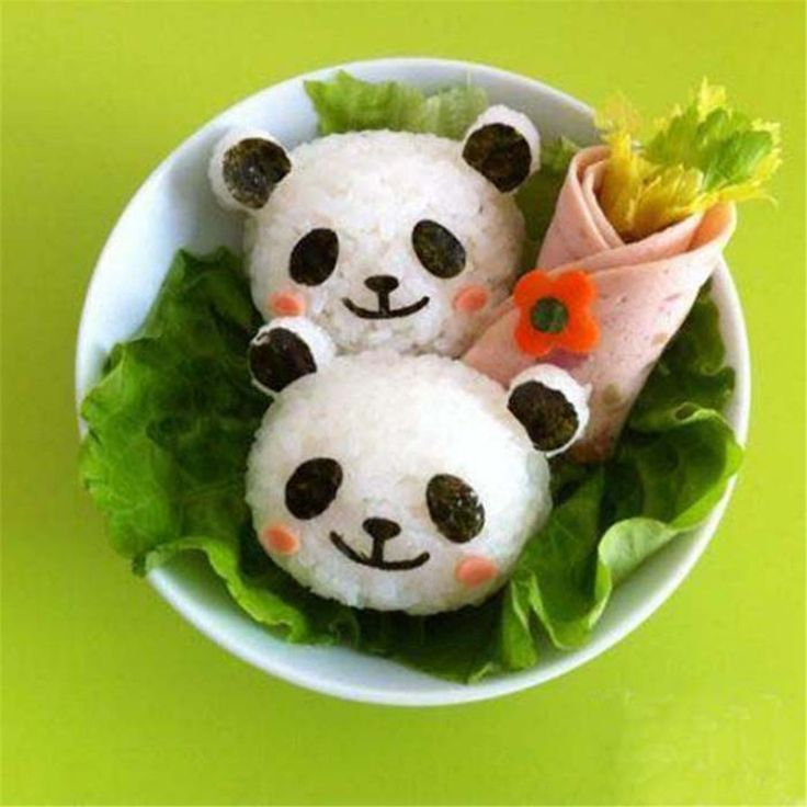 Panda Rice Ball Mold Cooking Tool (with Seaweed cutter)
