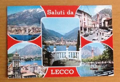 Saluti da #Lecco #postcard