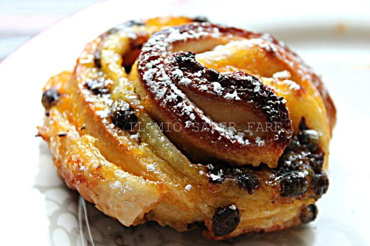 Pan brioche sfogliato: kranz di Luca Montersino. Sono due basi, pasta sfoglia e pan brioche, che unite danno vita a delle golosissime merendine da colazione