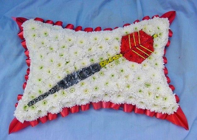 dart funeral tribute cushon