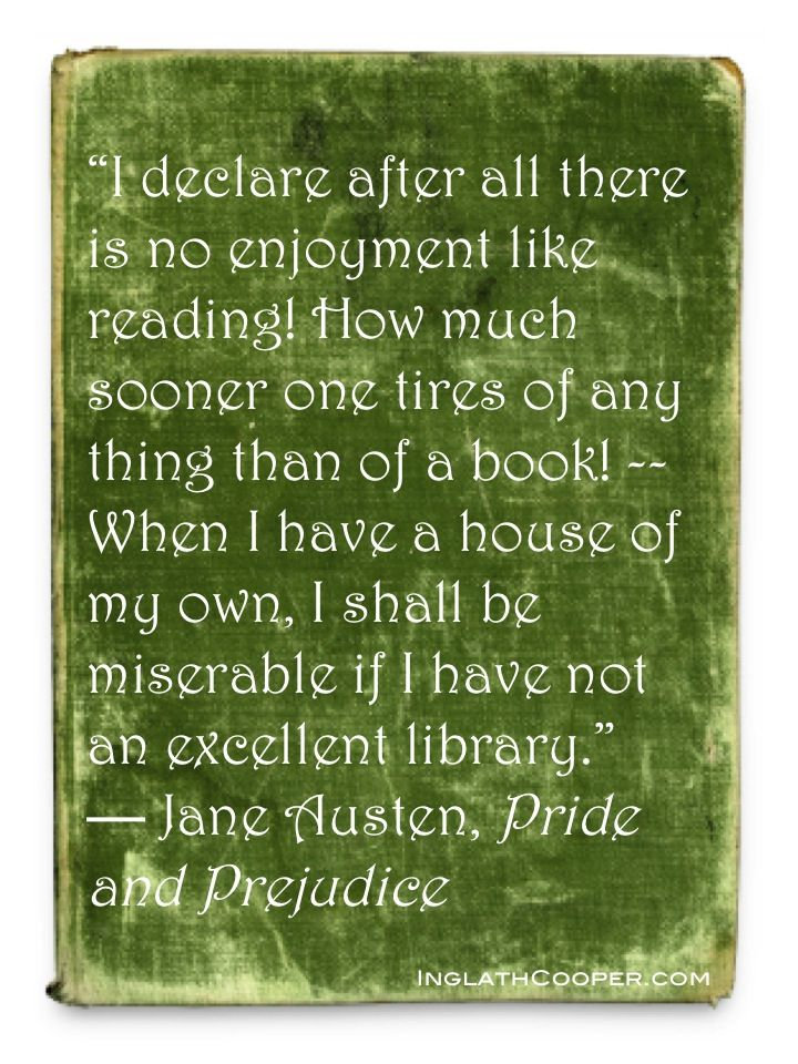 Jane Austen, Pride and Prejudice: Books Posters, Books Worth, Books Nerd, Books Quotes, Books Junkie, Jane Austen, Favorite Books, Books Lovers, Bookish Quotes