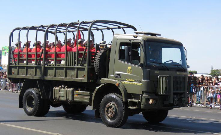 Marinha do Brasil Corpo de Fuzileiros Navais Mercedes Benz Atego 1725 4x4