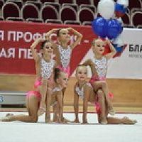 Первенство РФСО Локомотив по художественной гимнастике Юные гимнастки