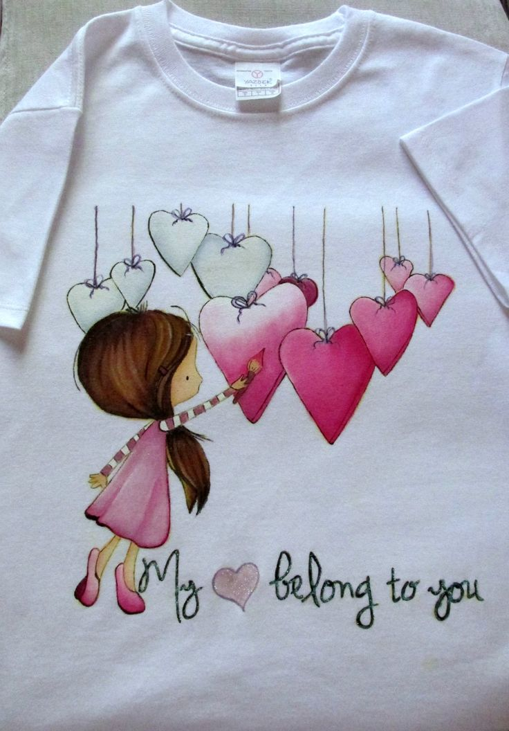 Playera personalizable - Hearts