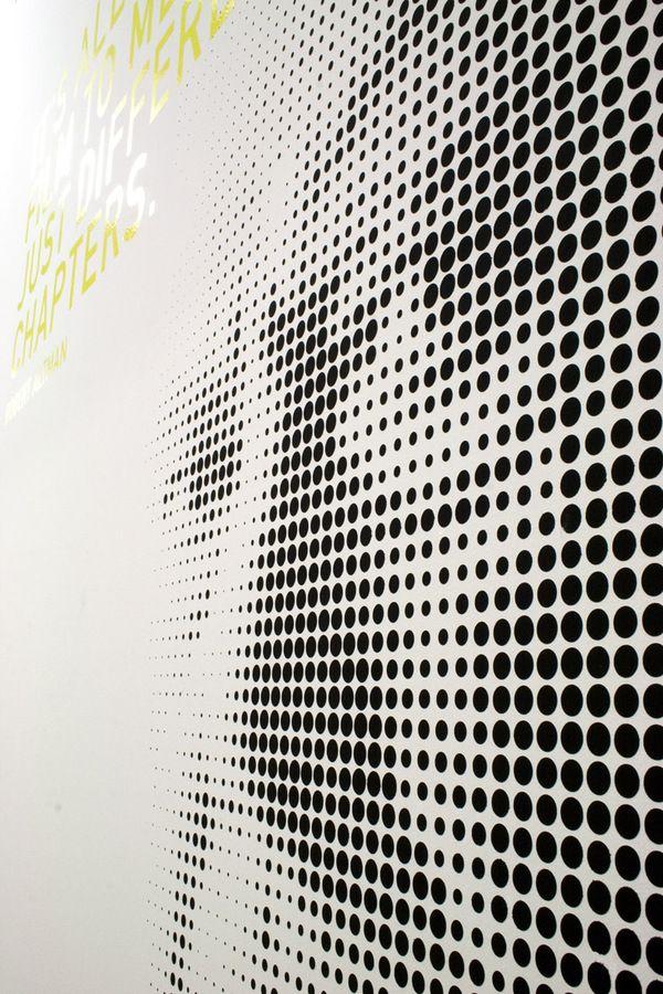 Wandgestaltung Hofmann & Voges on Behance