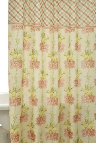 Bathroom ideas pink - Waverly By Famous Home Fashions Starla Shower Curtain Amazon Yazmy