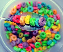 I had no idea that they made cereal like that I thought that it only came in the whitey colour