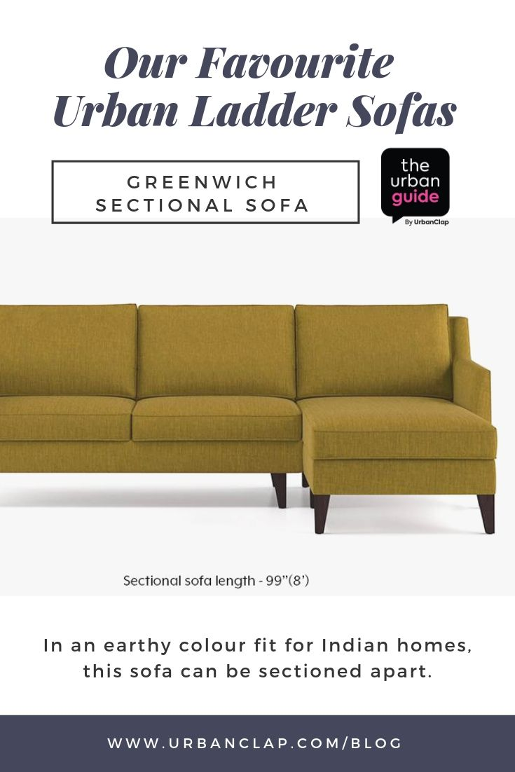 Urban Ladder Sofa 10 Favourite Pieces We Ve Selected For You Sofa Urban Sectional Sofa