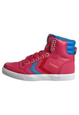 Hummel Stadil Cuir Enfants Unisexe Jr Sneaker - Violette - 31 Eu cjs1A8O7a