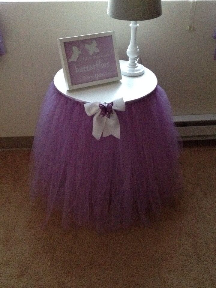 Adorable TuTu Table Skirt Baby Shower Decor by QVTuTuDecorandMore, $75.00