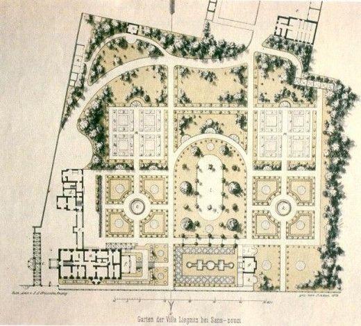 french garden plan - Google Search