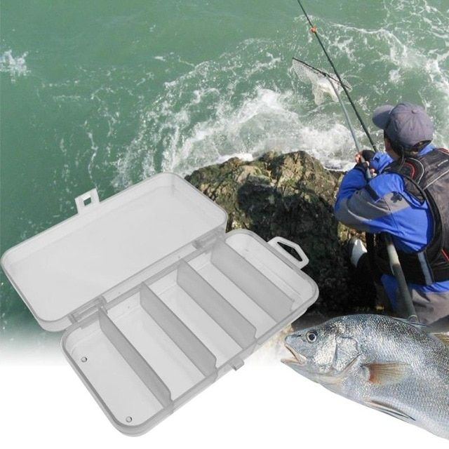 Lures Lines Bait Hooks Fish Case Fishing Tool not included Fishing Tackle Box