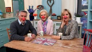 The Great Comic Relief Bake Off - Cheese, chive & mustard scones