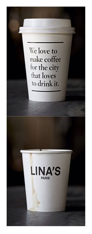 Hargreaves collects and then photographs coffee shop to-go cups, posting them on his Tumblr and Instagram.