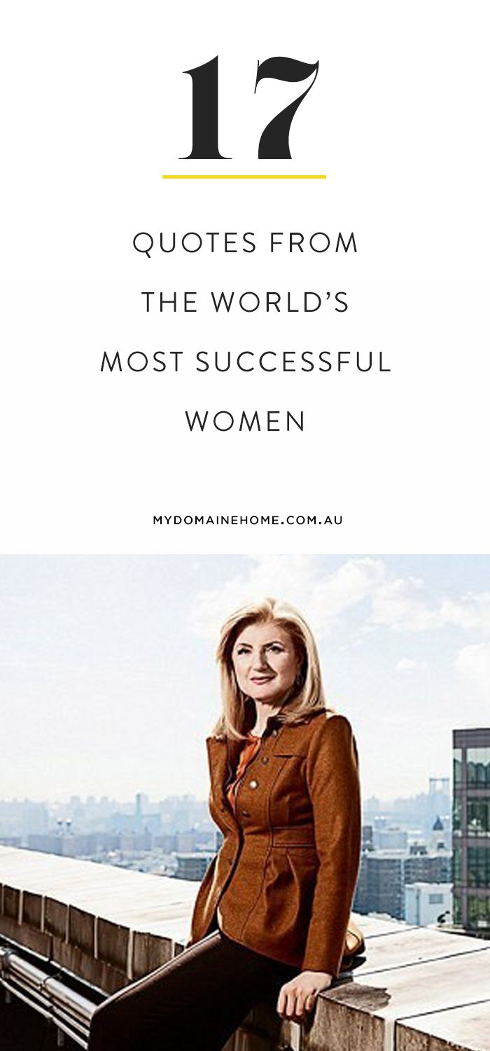 In A New Book, The Game Changers, Some Of The Worldu0027s Most Successful Women  Share Their Best Career Advice And Life Wisdom.