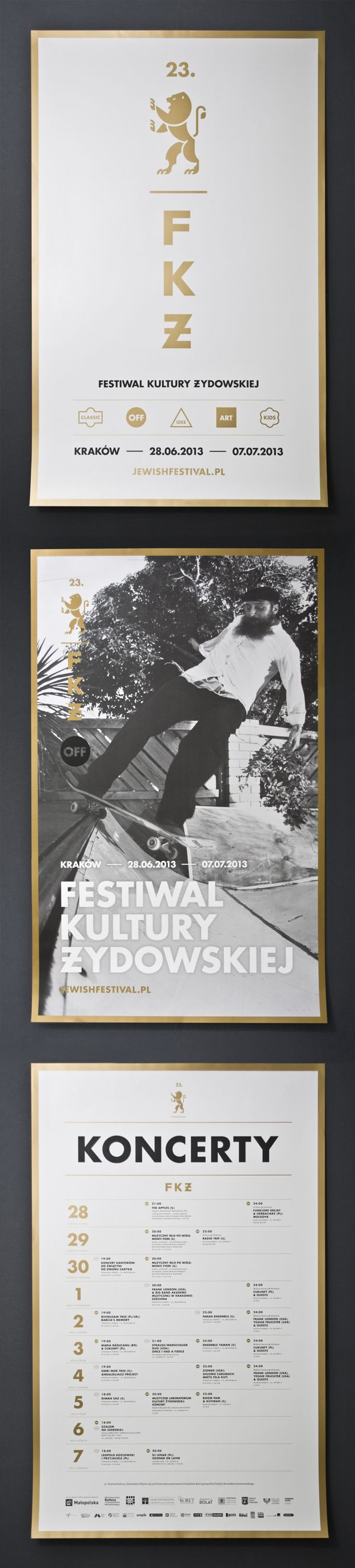 59 best design print layout images on pinterest graph design visual identity and promotional materials for krakow jewish culture festivale krakow jewish culture festival is an international cultural event with a fandeluxe Gallery