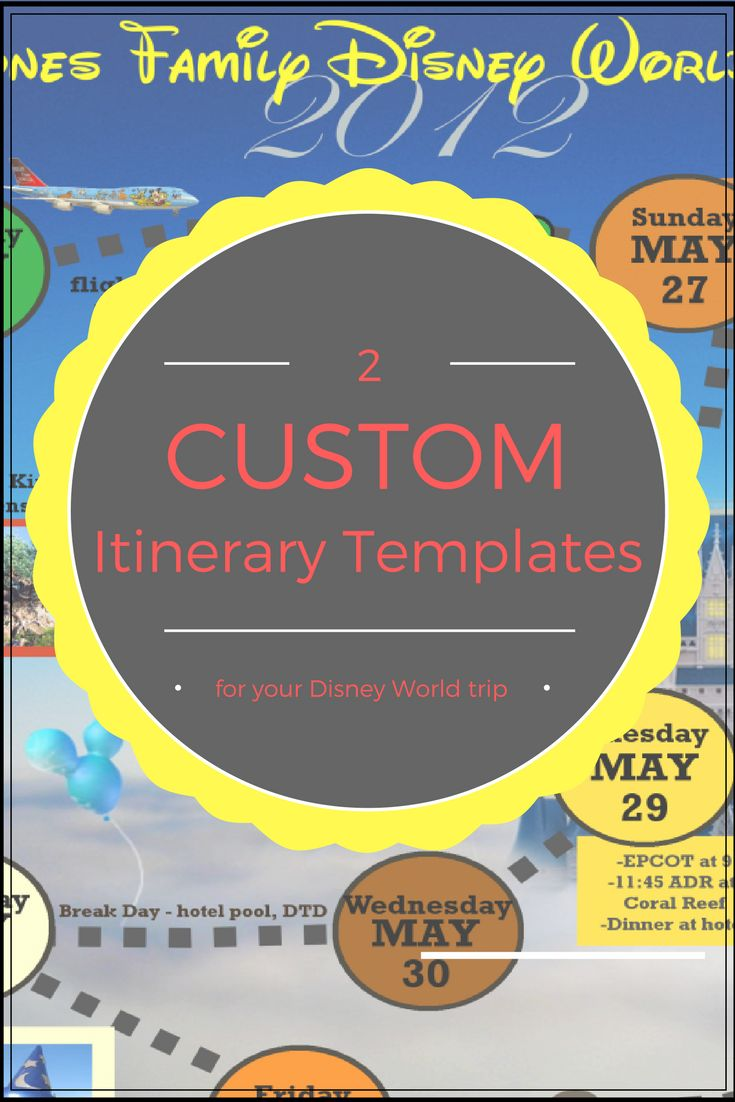 business trip planner office templates