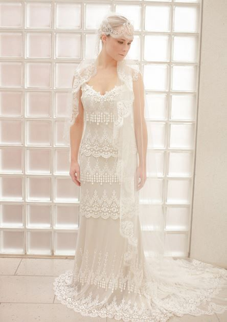 claire pettibone kristene lace wedding gown photo cat hepple httpscouture