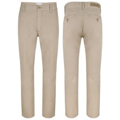 Calça Brim Masculina Vilejack Sportwear Com Elastano - R$ 85,50 no MercadoLivre
