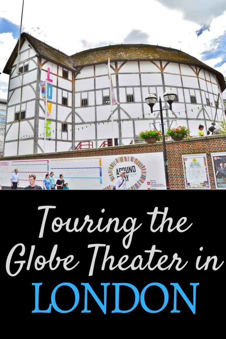 Touring the Globe Theater in London England