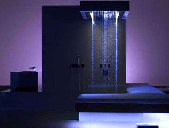Waterfall Shower Heads: Aqua Duetto by Jalco Mimics Nature