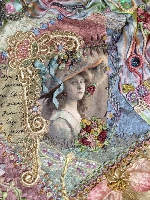 Crazy Quilting and Embroidery Blog by Pamela Kellogg of Kitty and Me Designs: Calendar Blocks